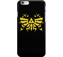 Hyrule Rorschach (gold) iPhone Case/Skin