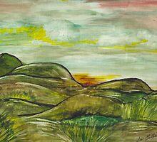 Rolling hills by IrisGelbart