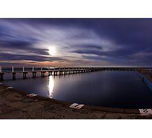 Lunar Swim_North Narrabeen Photographic Print