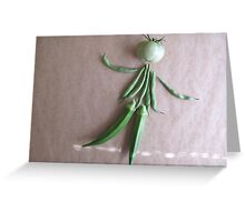 Playing With Vegetables : Greeting Card