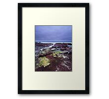 """Red Earth"" ∞ Haycock Point, NSW - Australia Framed Print"