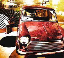 Retro Mini Dreams  by Anthony  Poynton