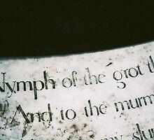 Nymph of the grot, Stourhead UK by Gitte Morten