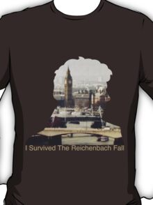 I Survived The Reichenbach Fall #2 T-Shirt