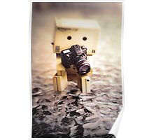 Danbo and Camera Poster