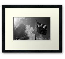 You are not forgotten - POW MIA Framed Print