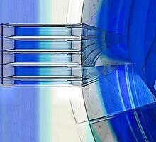 Blue Ribbons by Benedikt Amrhein