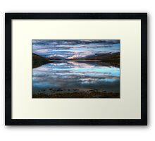 Morning Reflections On Loch Leven Framed Print