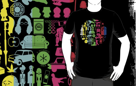 TV TEE- Color by Tom Trager