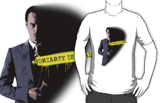 MORIARTY WAS REAL! by curiousfashion
