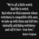 True Weirdness by Doombuggyman