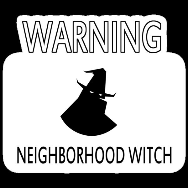 Neighborhood Witch by DangeRuss