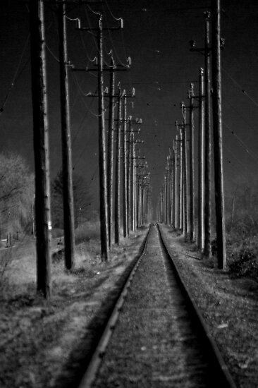 The Tracks Less Traveled by Sheri Bawtinheimer