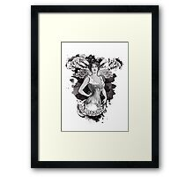 Corseted! Framed Print