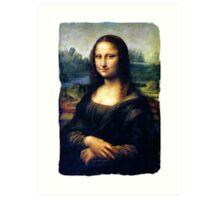 Mona Lisa Restored Art Print