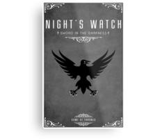 Night's Watch Metal Print