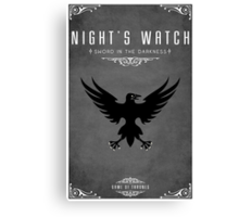 Night's Watch Canvas Print