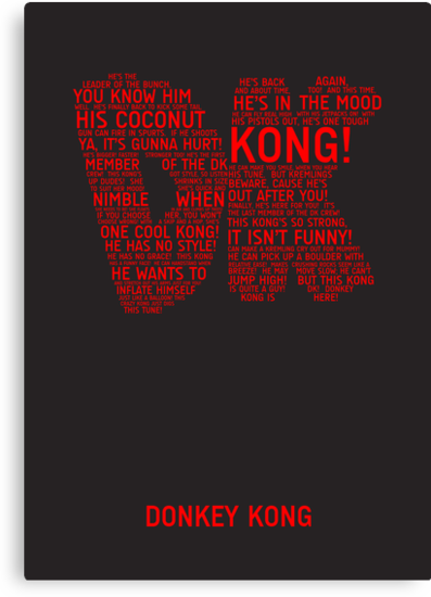 Donkey Kong Poster by TitanVex