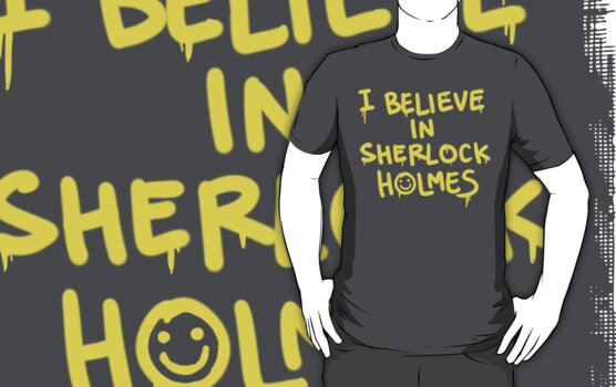 Believe in Sherlock by machomachi