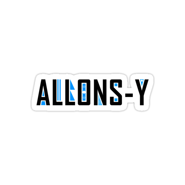 Allons-y by Jacqui Frank