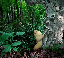 Any honey in there, Mr. Treeman? by Christina Brundage