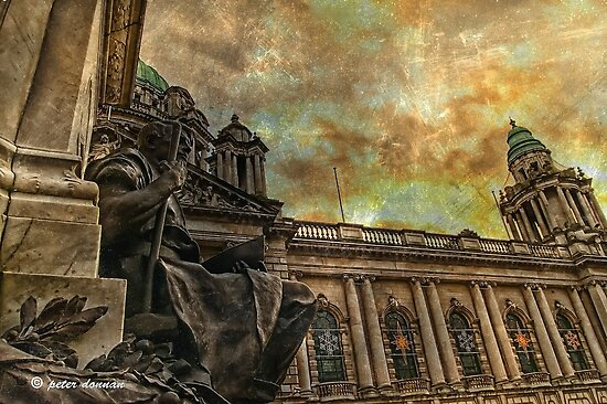 Belfast City Hall Another View by peter donnan