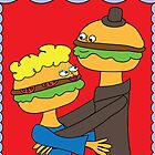 Hamburgers in Love by jderr273