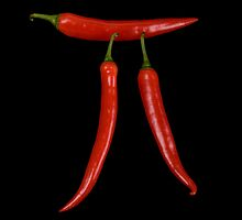 Pi red hot pepper by Pier Luigi Maschietto