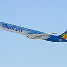 N874GA Allegiant Air, McDonnell Douglas MD-83 by Henry Plumley
