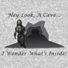 Hey Look, A Cave! (Skyrim - Lydia) by oawan