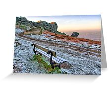 Cow and Calf Rocks Ilkley Moor - HDR Greeting Card