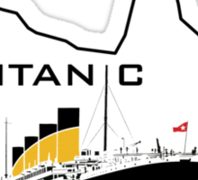 Titanic - T-shirt Sticker