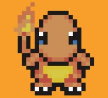 Adorable Charmander 16bit - Pokemon - Nawww by Ryan Wilson