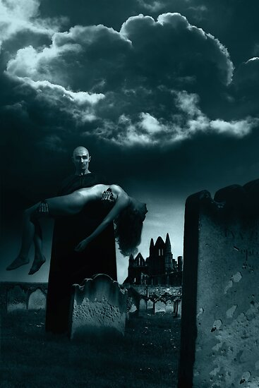 Bram Stoker's Dracula at Whitby Abbey by Andrew Bret Wallis