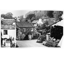Beatrix Potter Country ~ Near Sawrey, Cumbria Poster