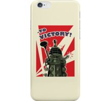 To Victory! - Cream iPhone Case/Skin