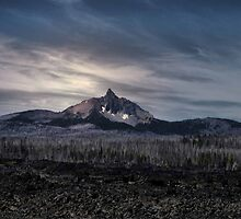 Mt Washingtons Afternoon Glow by Charles & Patricia   Harkins ~ Picture Oregon