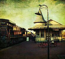 New Hope Train Station by John Rivera