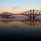 Forth Rail Bridge - Ribbon Across The Sky by Kevin Skinner