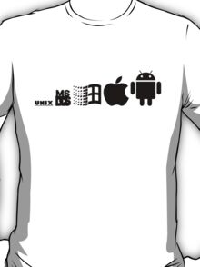 android evolution T-Shirt