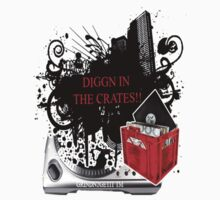 """THE DJ GRIND-DIGGN IN THE CRATES""  by GRINDN2GETIT"