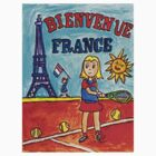 Tennis Bienvenue France by Monica Engeler