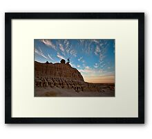 King of the Mungo - Mungo NP, NSW Framed Print