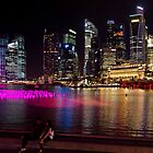 Singapore: Marina Bay &amp; Finance District by Kasia-D