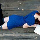 Blue Dress Girl  by BriannaNewman