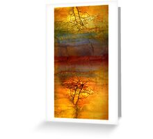 The Soul Dances Like a Tree in the Wind Greeting Card