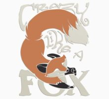 Crazy Like a Fox Sticker by Zhivago