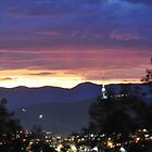 canberra sunset2 by Peter Holland