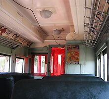 Old Electric Trolley Car of the Early 1900s by Gu88dek