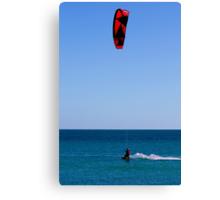 Kite Surfers Rule....Dude Canvas Print